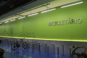 Bicicletário em condominios