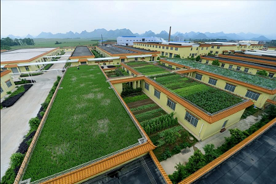 Telhados verdes para condomínios